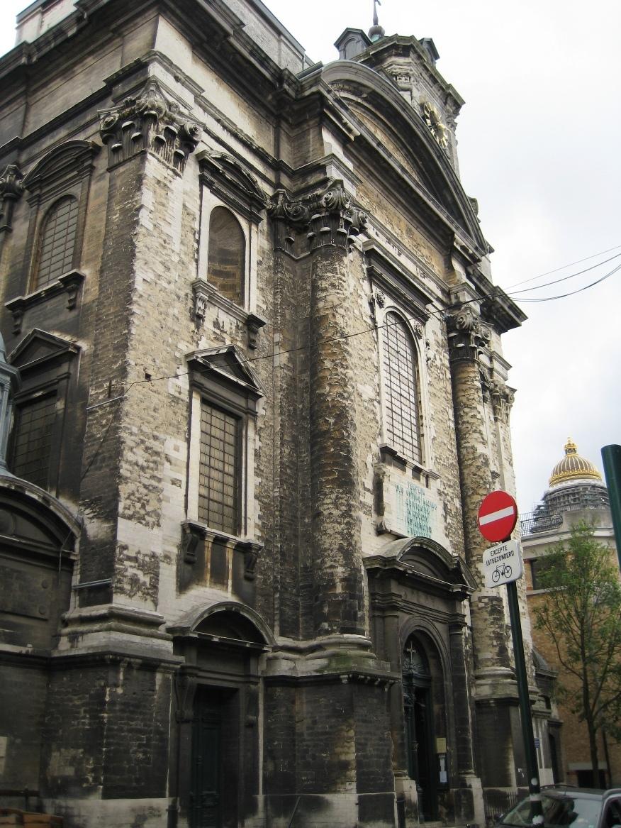 Rue des Minimes 62-62A, Eglise paroissiale Saints-Jean-et-Etienne aux Minimes, 2015
