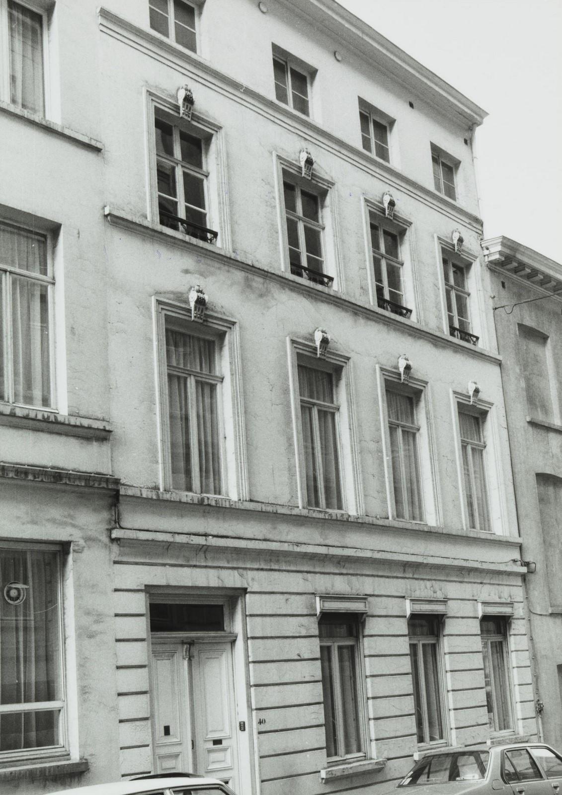 rue de la Pépinière 40., 1981
