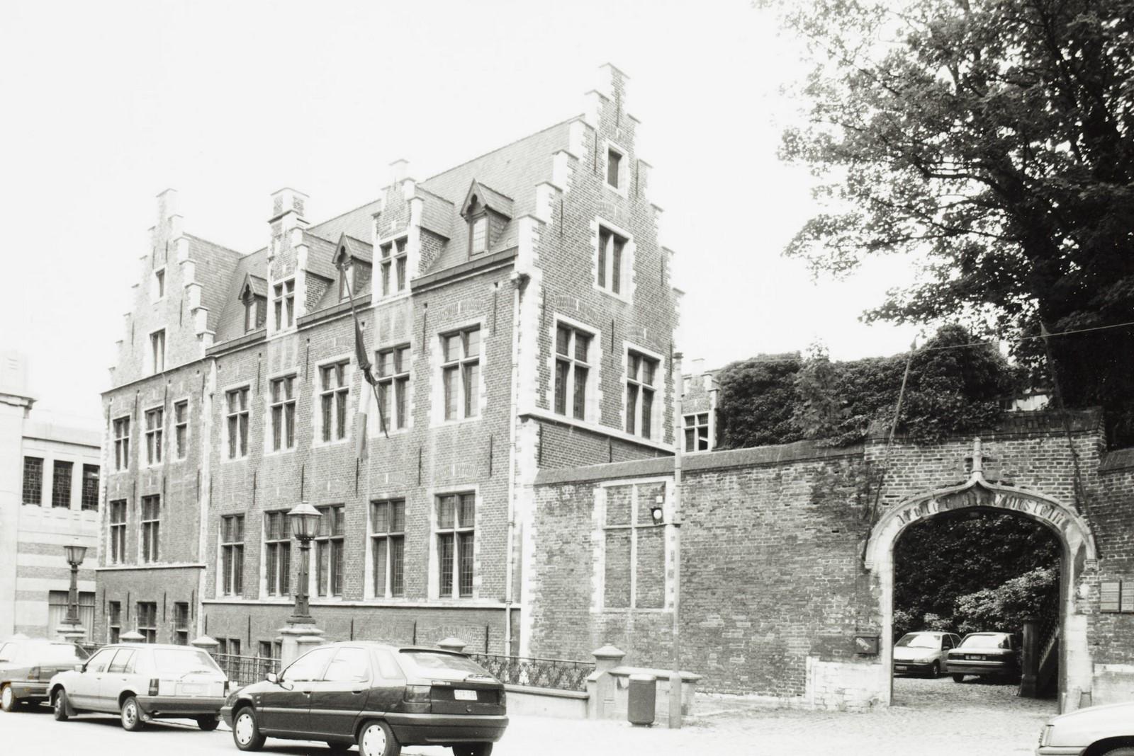 rue Ravenstein 3, anc. Hôtel de Clèves-Ravenstein., [s.d.]