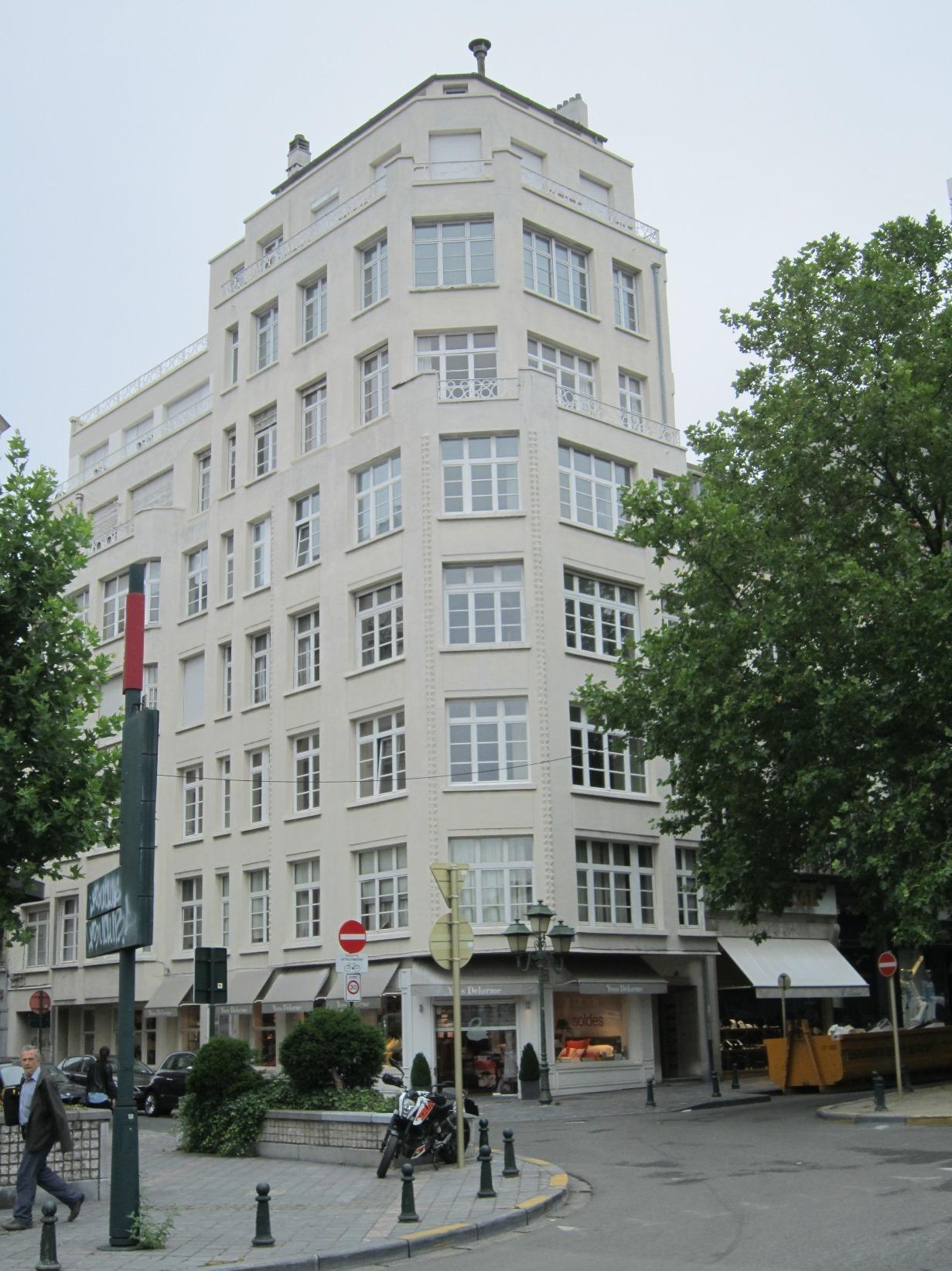 Waterloolaan 58-58A - Grotehertstraat 26-28, 2015