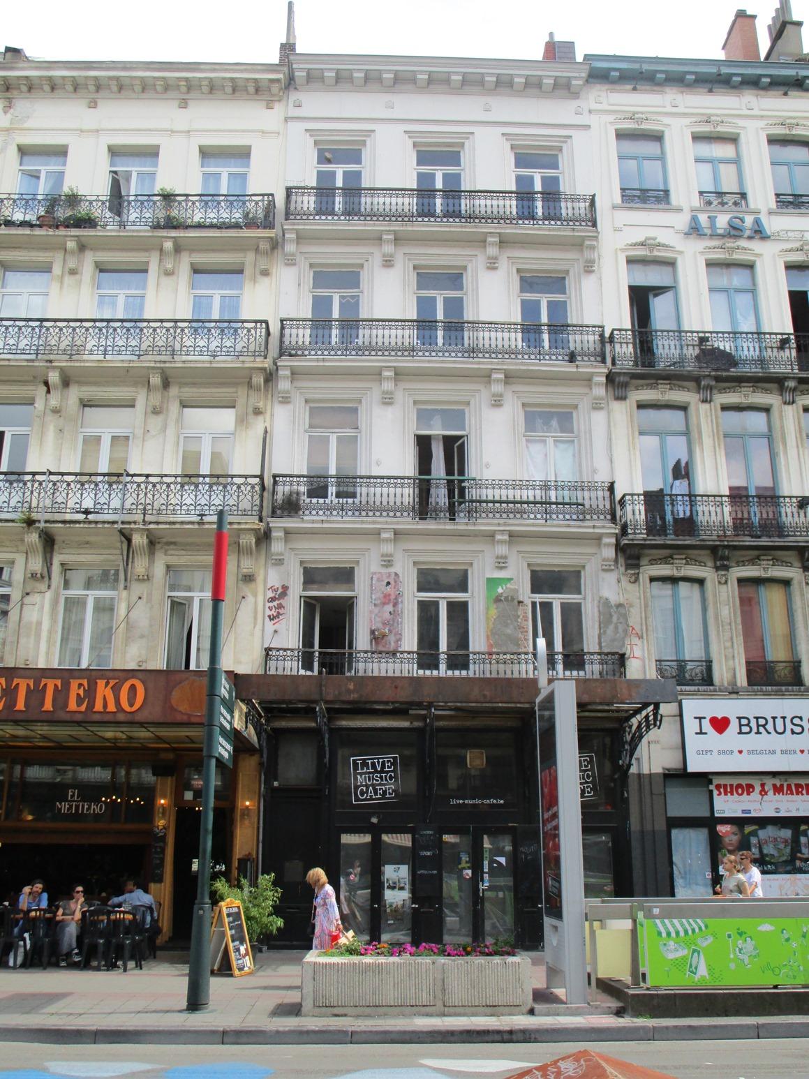 Boulevard Anspach 86-88 (immeuble de gauche)
