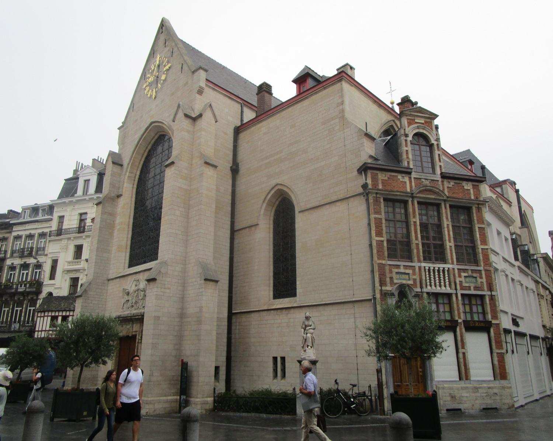 Rue au Beurre, Eglise Saint-Nicolas, 2015