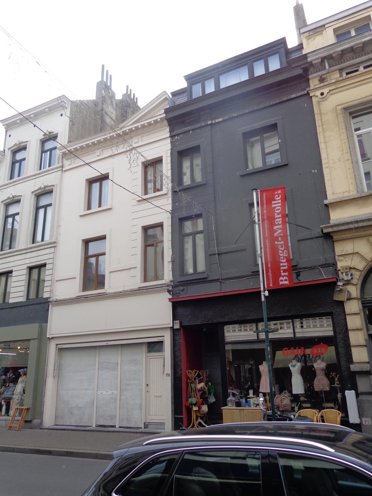 Rue Blaes 116, 118, 2015