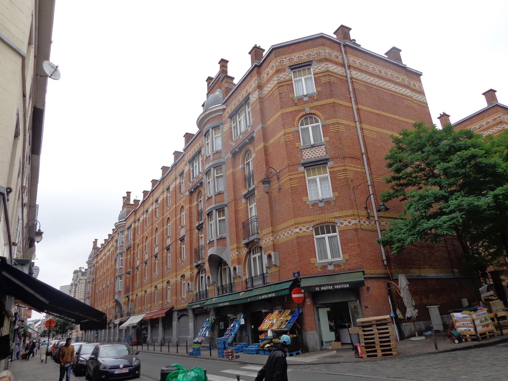 Cité Hellemans, rue Blaes, 2015