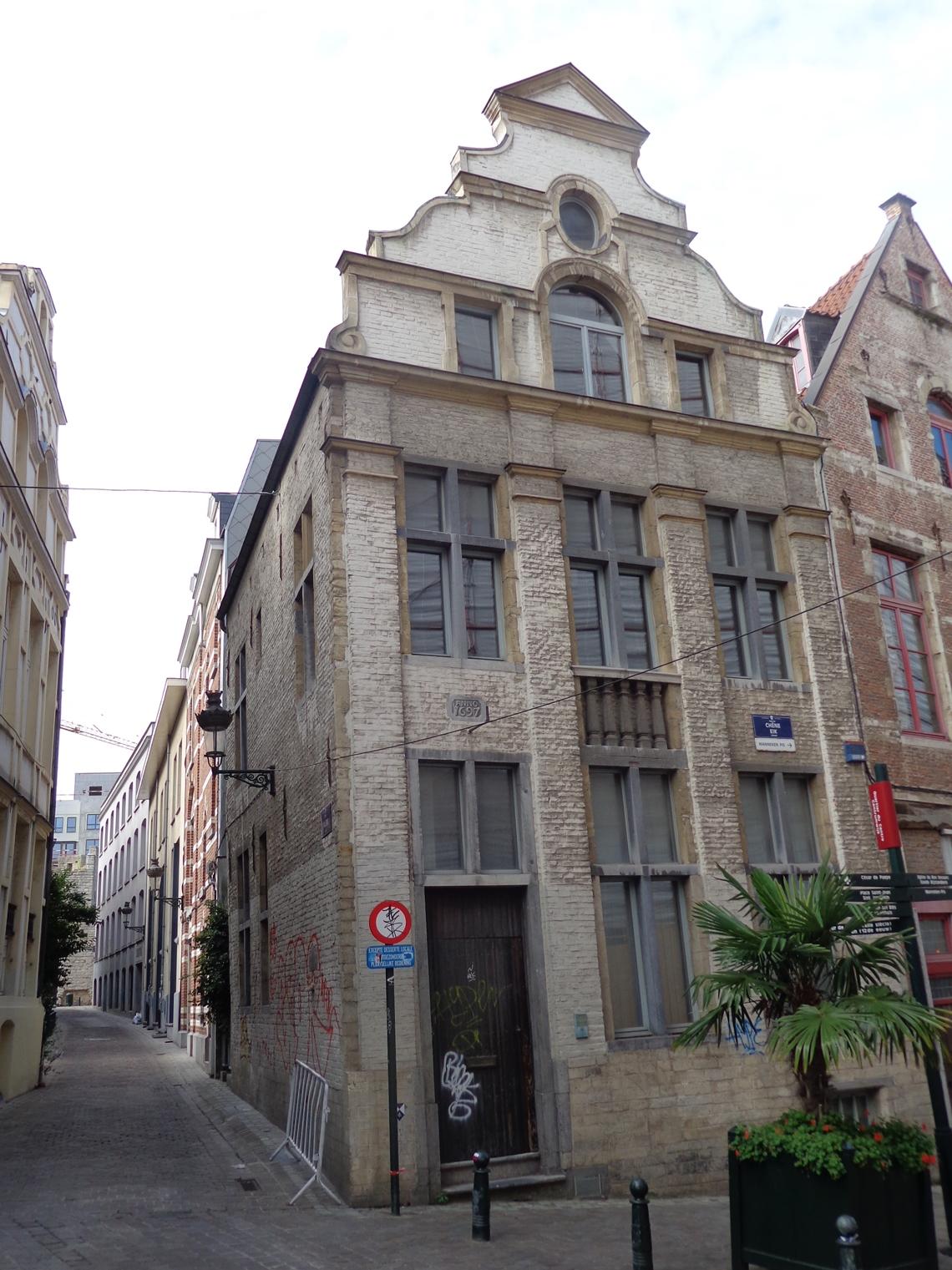 Eikstraat 27, Huis Schott of voormalige herberg Saint-Jean-Baptiste, 2015