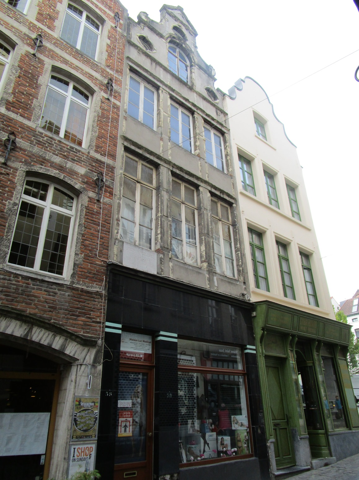 Rue des Eperonniers 58, 2015