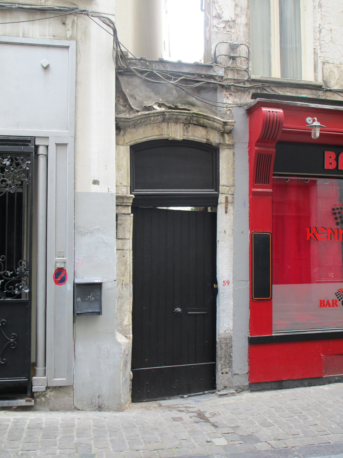 Rue des Eperonniers 59, 2015