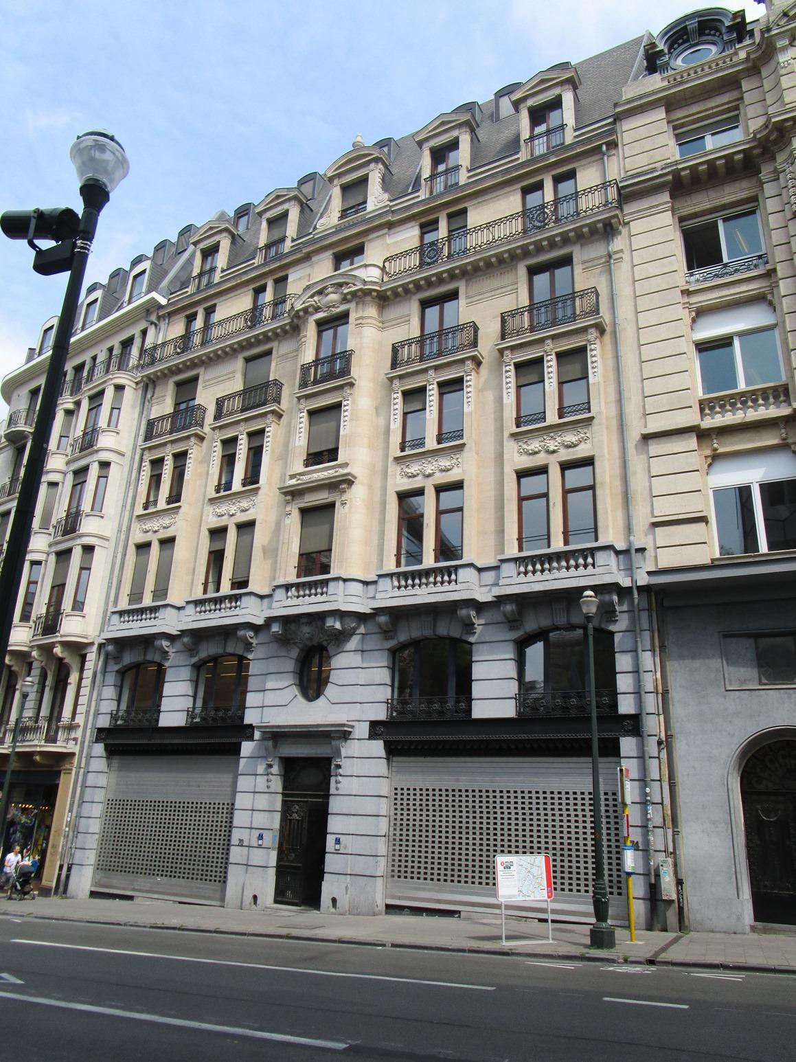 Rue du Lombard 70-72-74, 2015