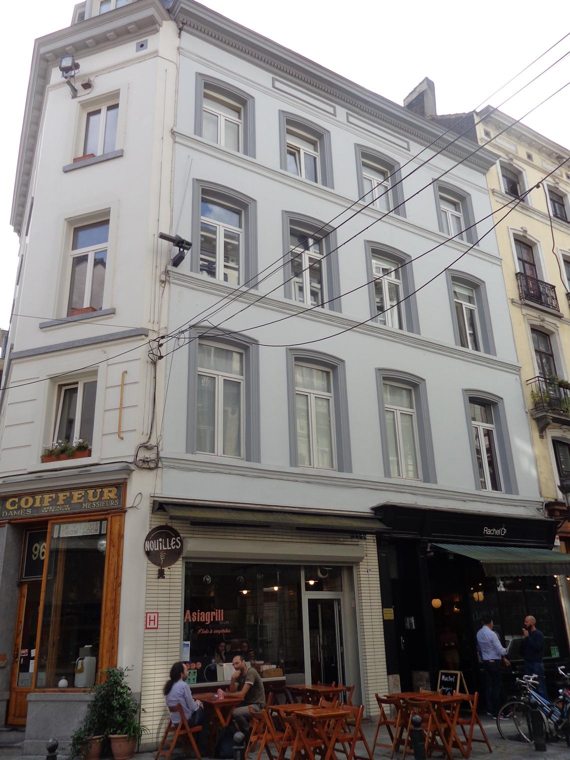 Rue du Marché au Charbon 98-100, 2015