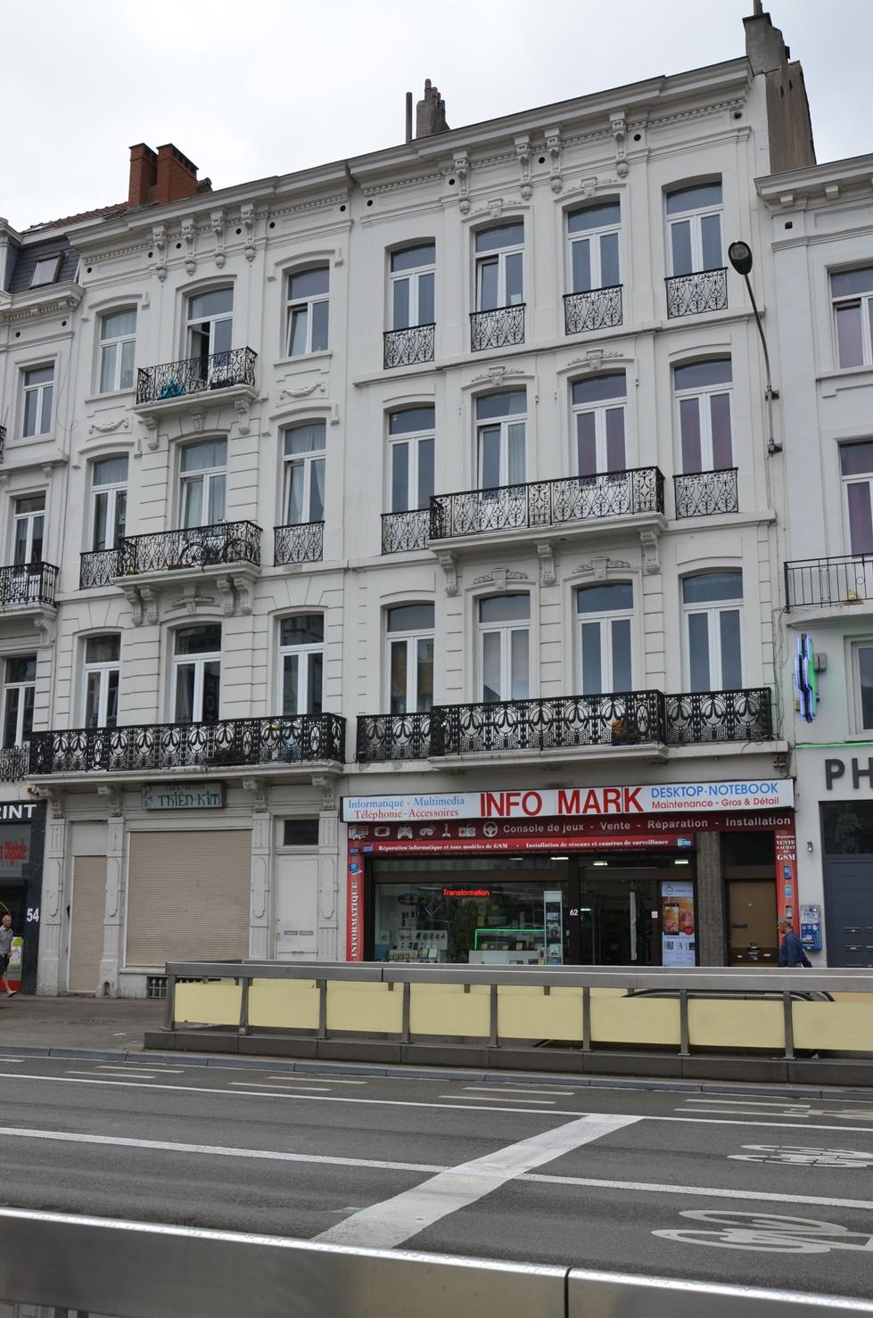 Boulevard Maurice Lemonnier 58-60, 62-64, 2015