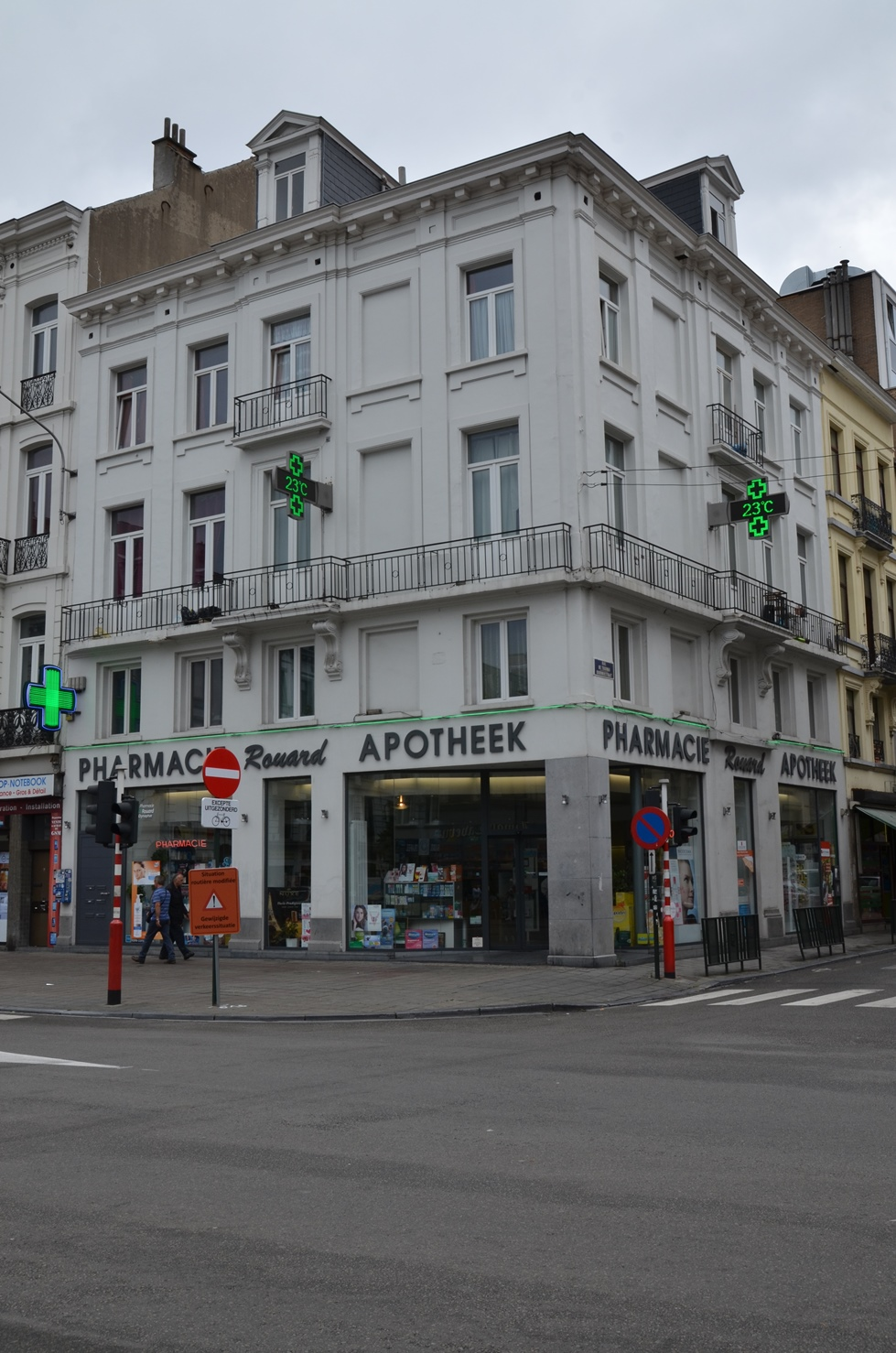 Boulevard Maurice Lemonnier 66, 70, 2015