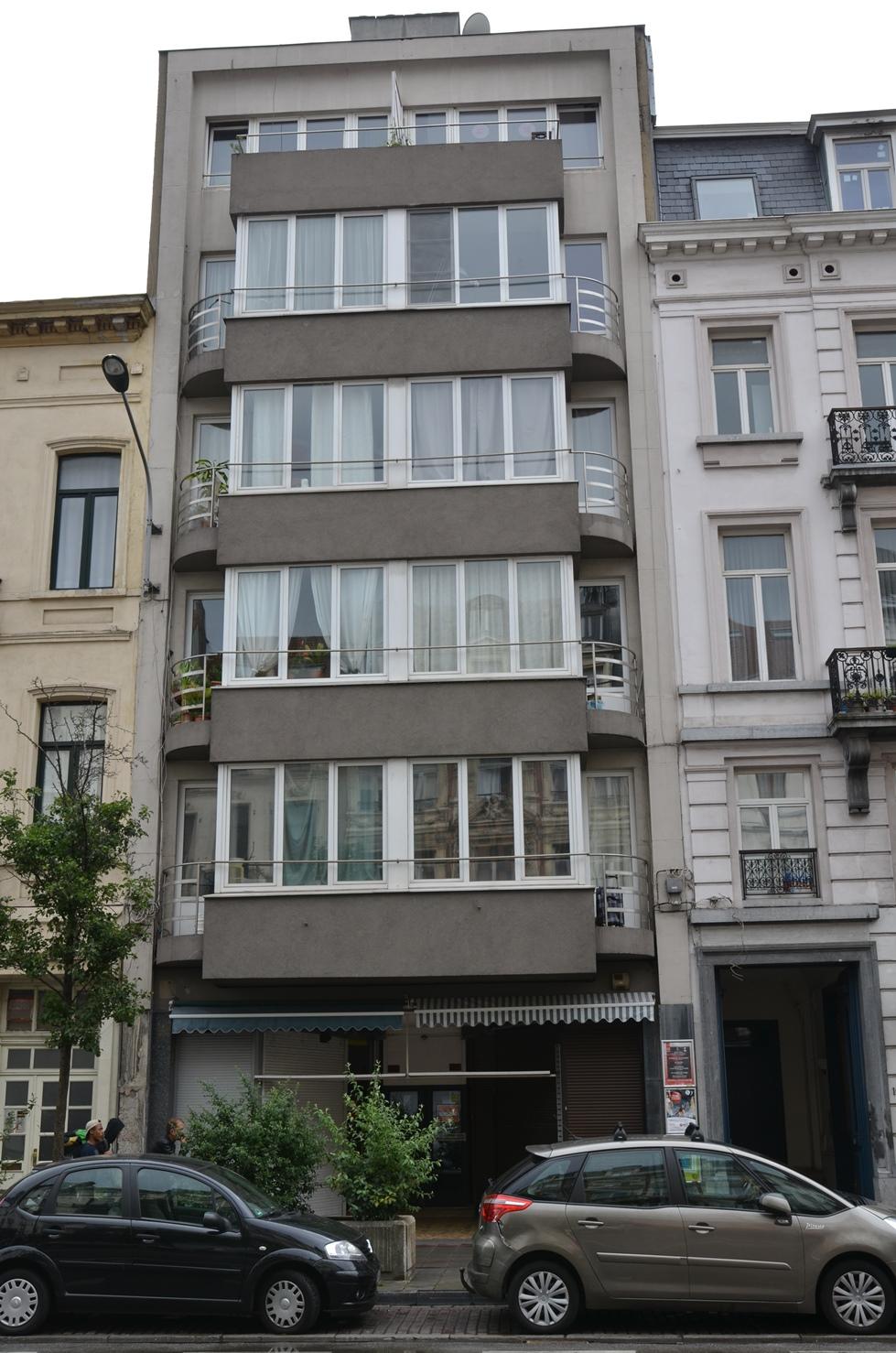 Boulevard Maurice Lemonnier 102-104, 2015
