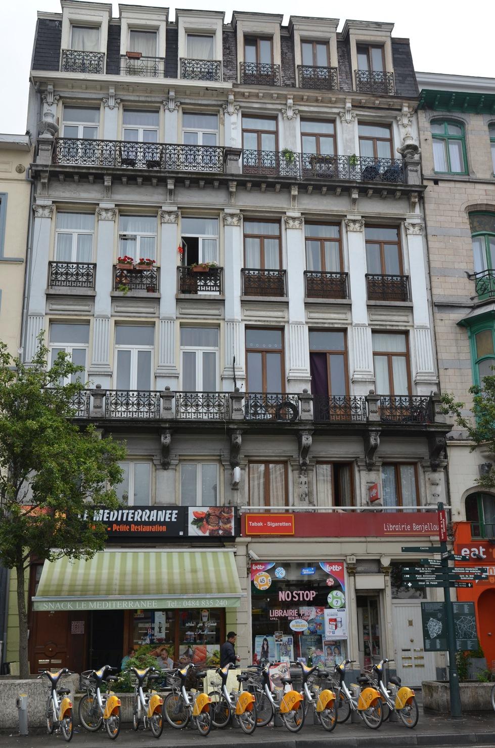 Boulevard Maurice Lemonnier 208-210,212-214, 2015