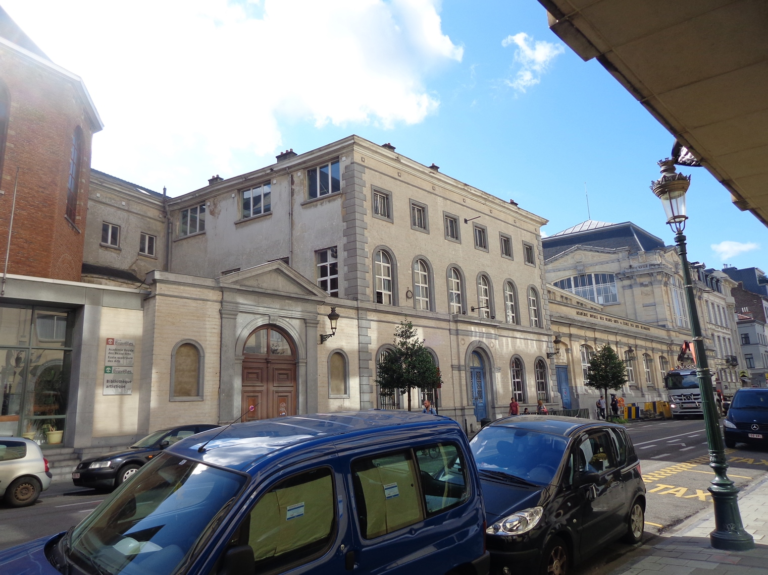 Rue du Midi 144, Académie Royale des Beaux Arts, 2015