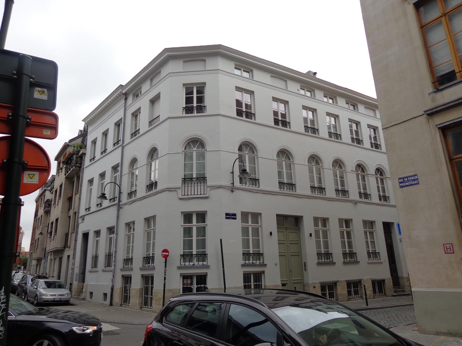 Rue Philippe de Champagne 35, 37, 2015