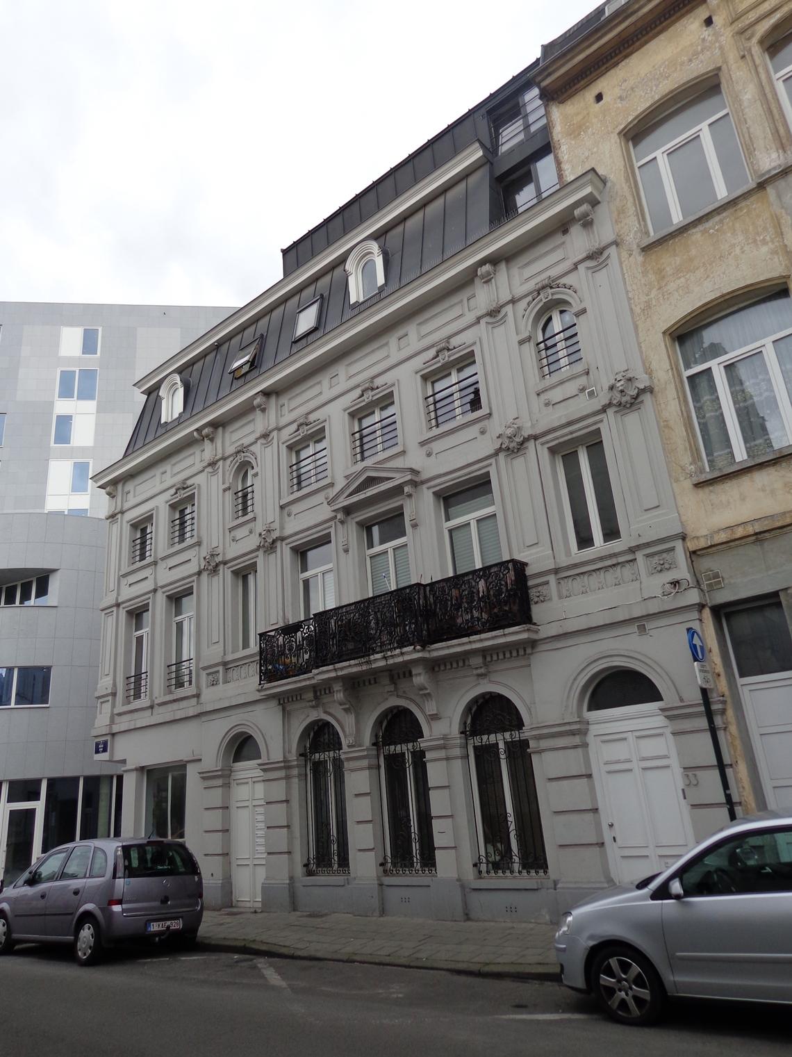 Rue de la Roue 33-35-37, 2015