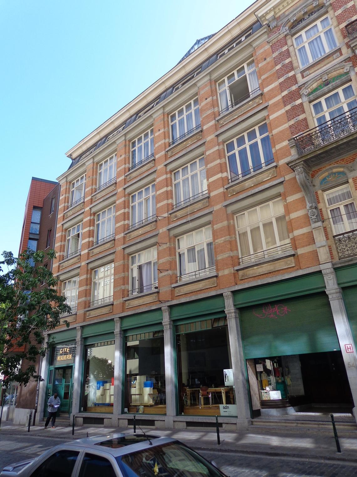 Rue des Tanneurs 52-54-56, 2015