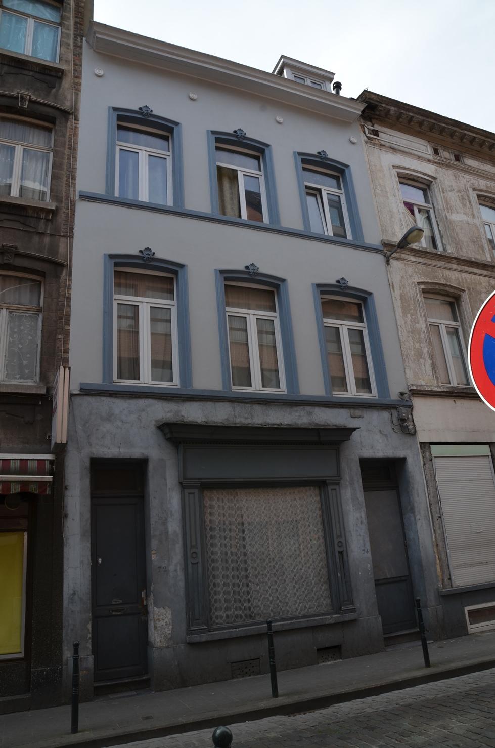 Rue d'Anderlecht 72-74, 2015