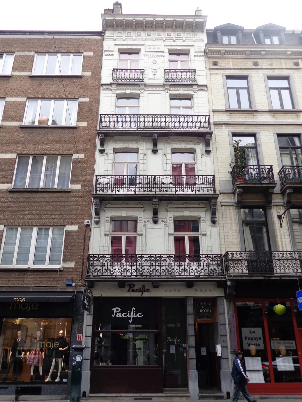 Rue Antoine Dansaert 57, 2015