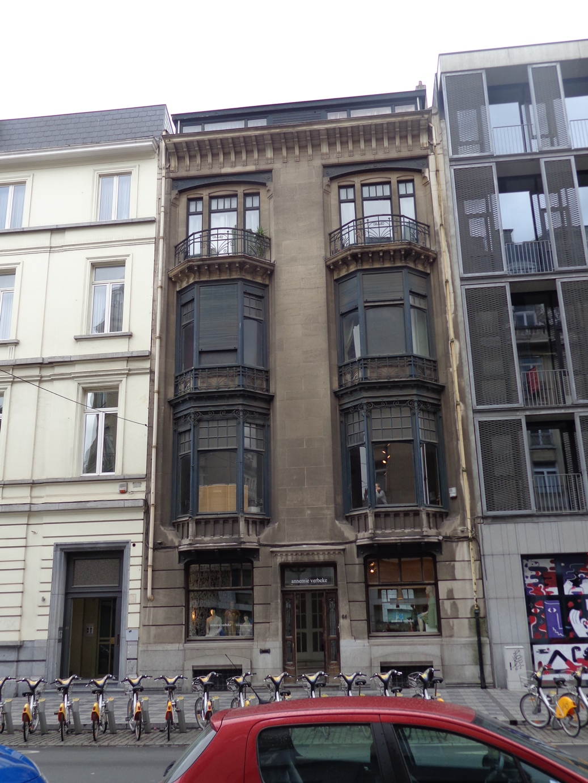 Rue Antoine Dansaert 64, 2015