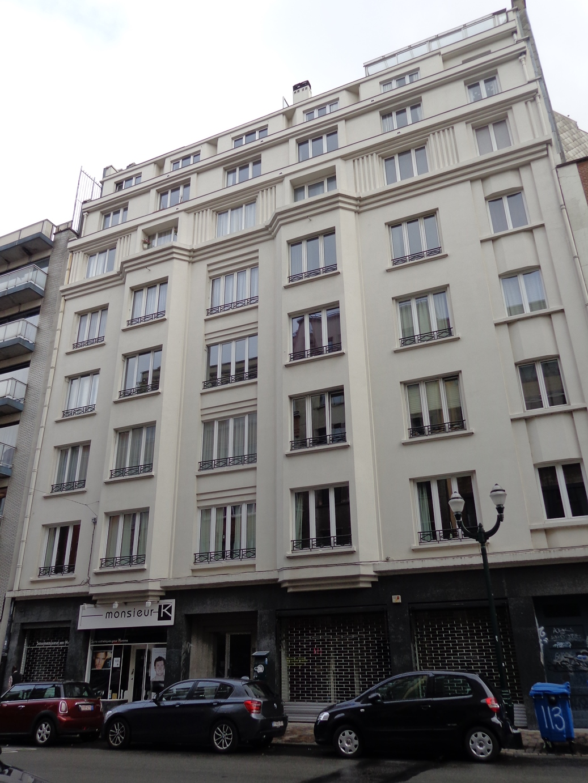 Rue Antoine Dansaert 109-111-113-115, 2015