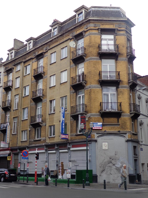 Rue Antoine Dansaert 129-131-133-135, 2015