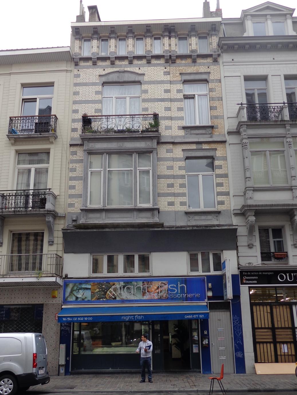 Rue Antoine Dansaert 138-140, 2015