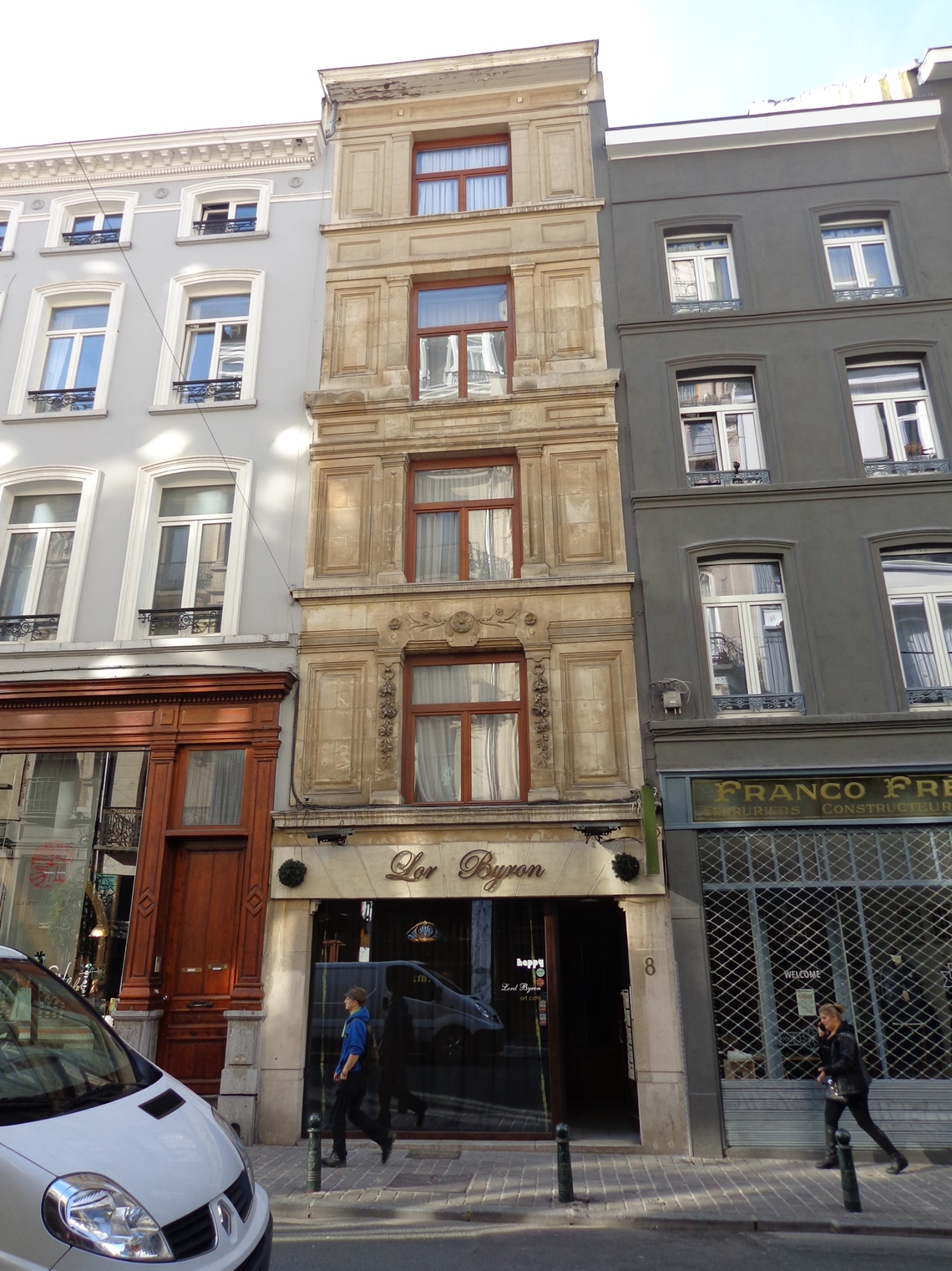 Rue des Chartreux 8, 2015