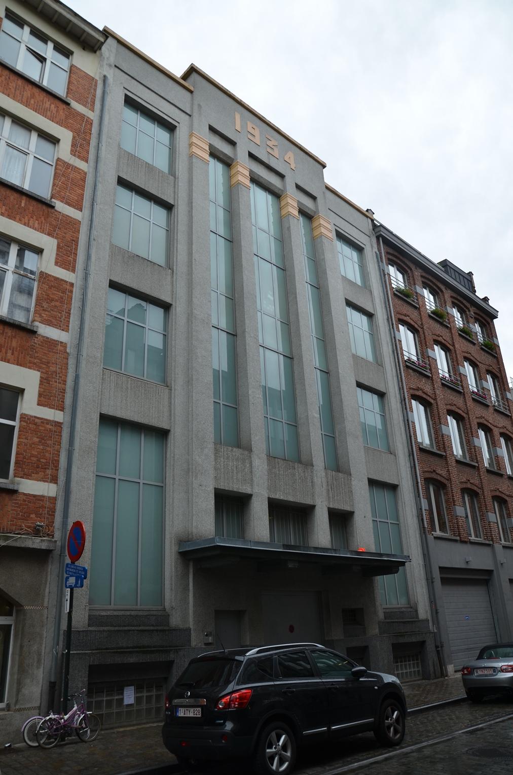 Rue des Commerçants 67, 2015