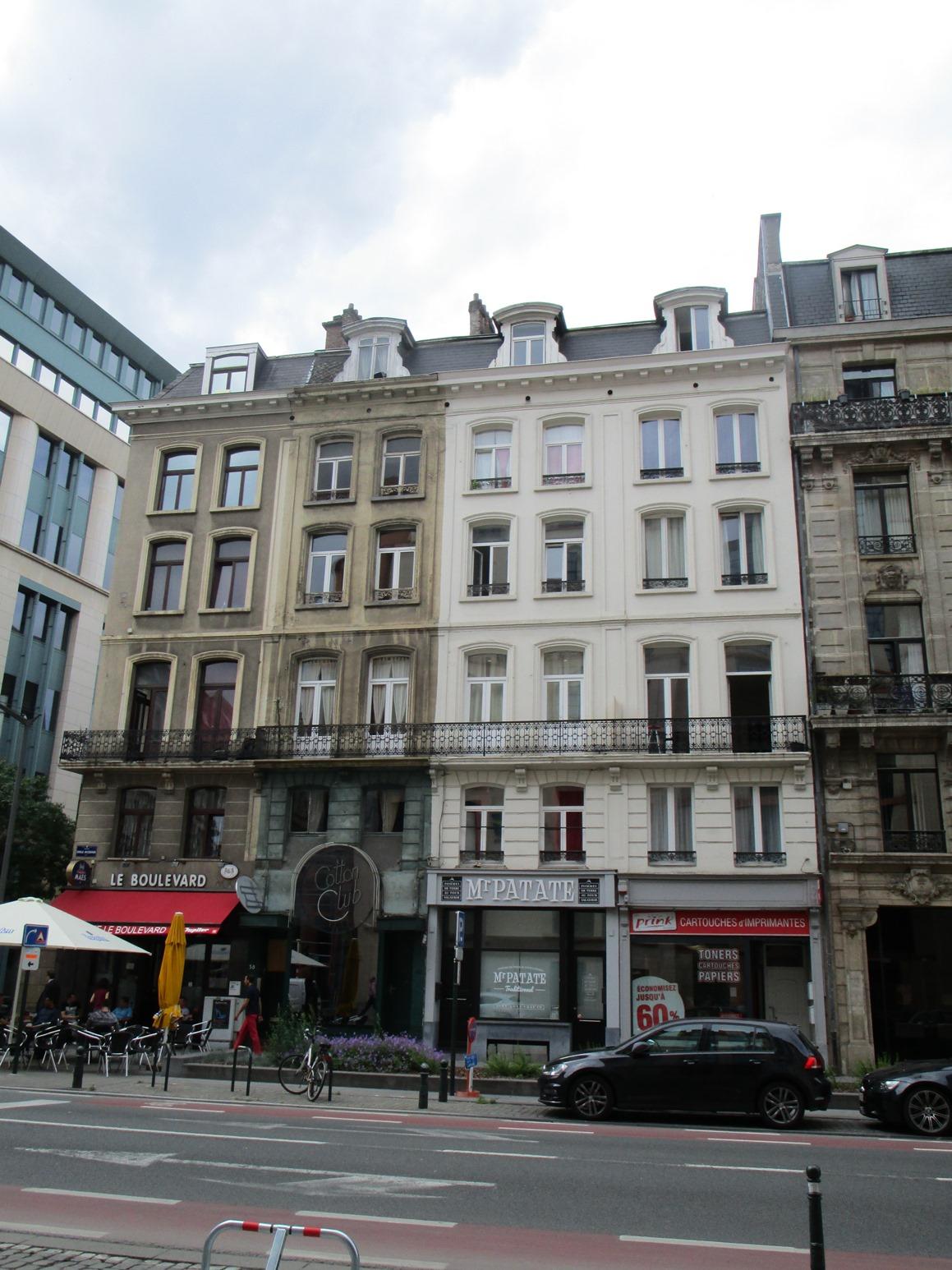 Boulevard Emile Jacqmain 36, 38-40, 42, 44-46, 2015