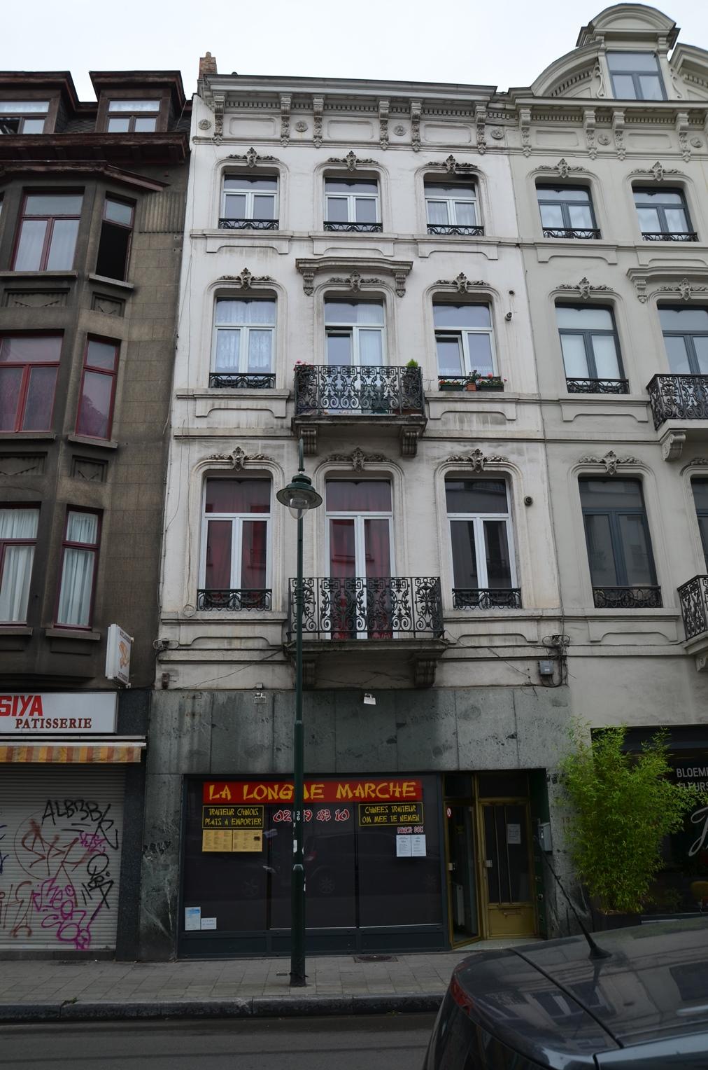 Rue de Laeken 134-136, 2015