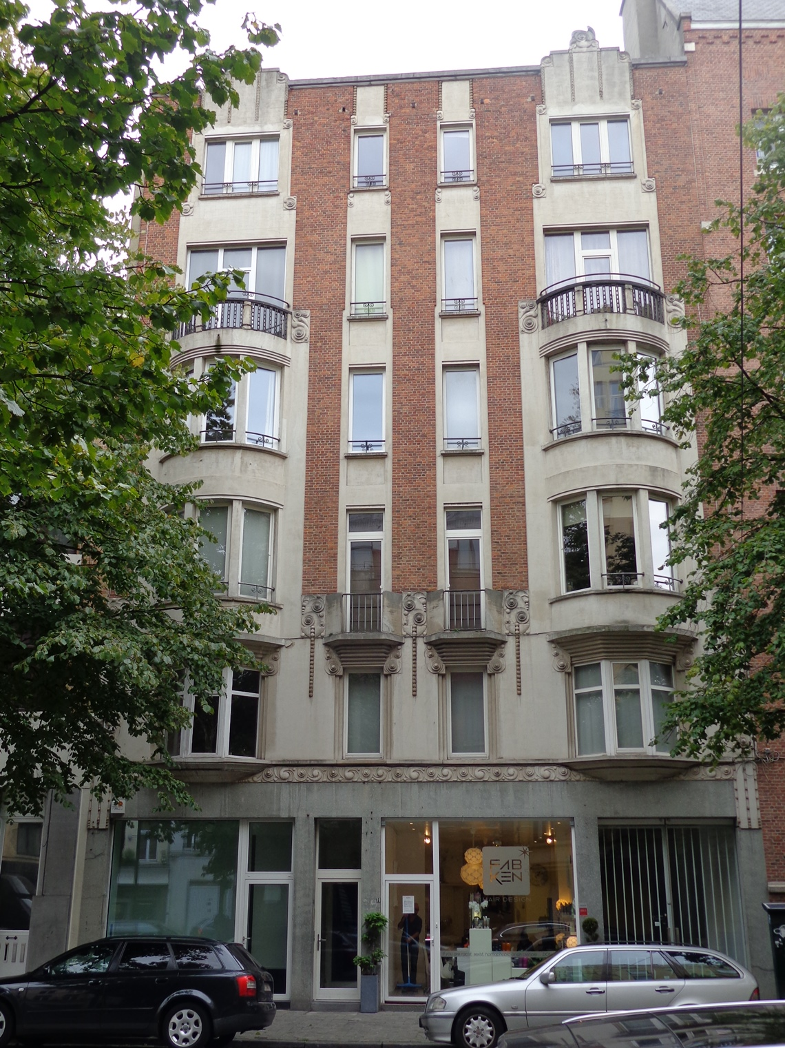 Rue Léon Lepage 37-39-41-43, 2015
