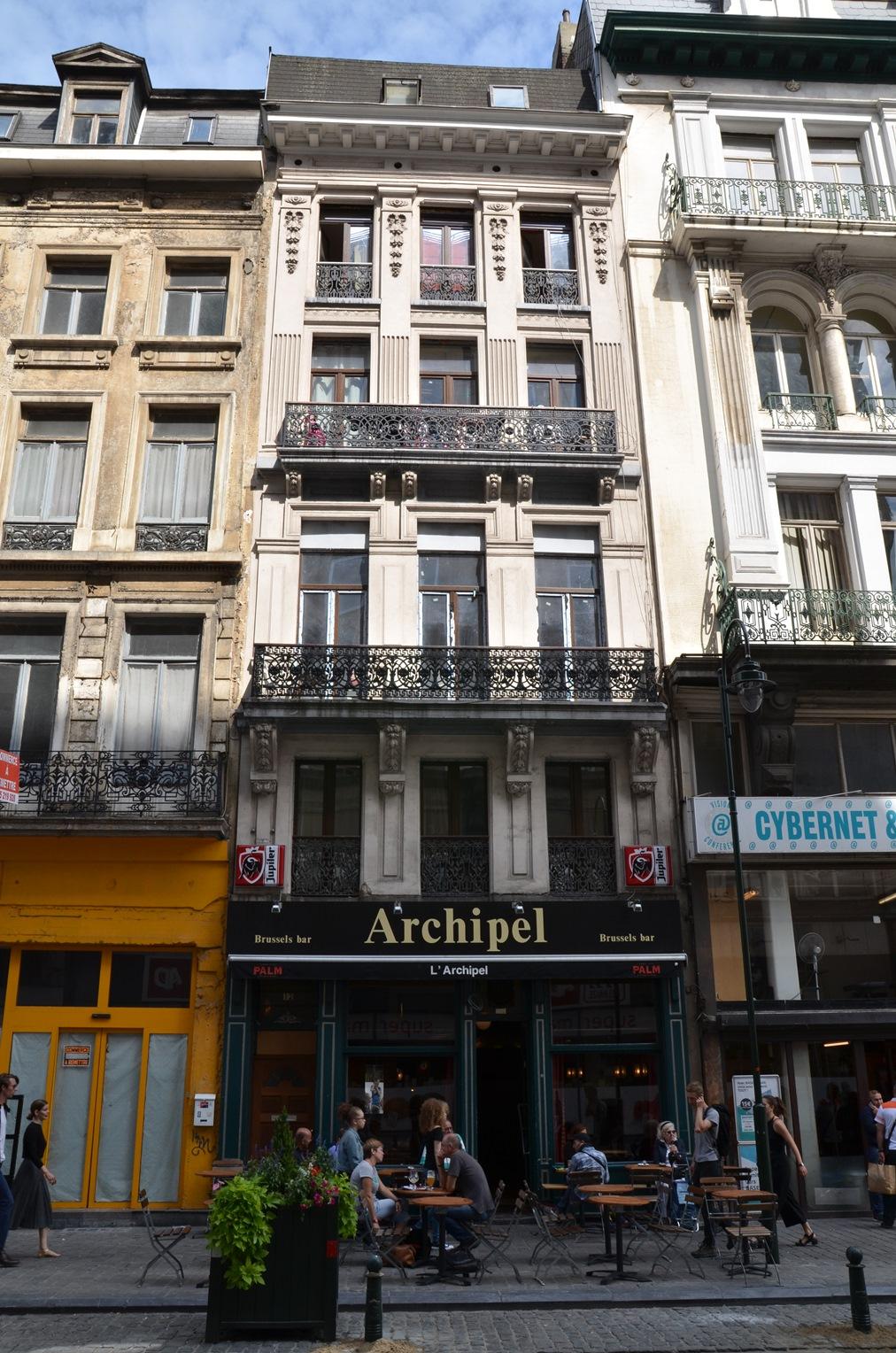 Rue du Marché aux Poulets 12-14, 2015