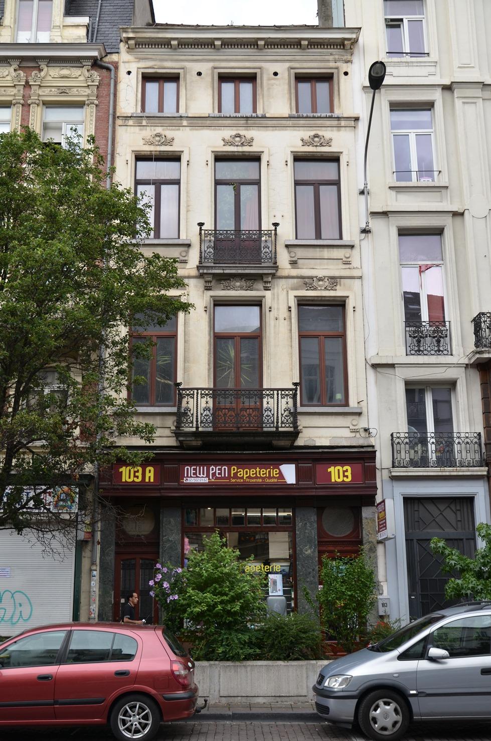 Boulevard Maurice Lemonnier 103-103a, 2015