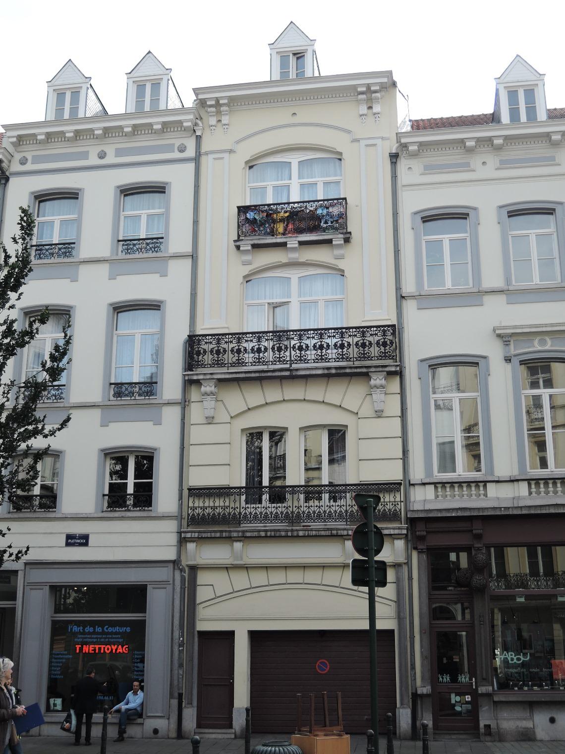 Rue Pletinckx 12, 2015
