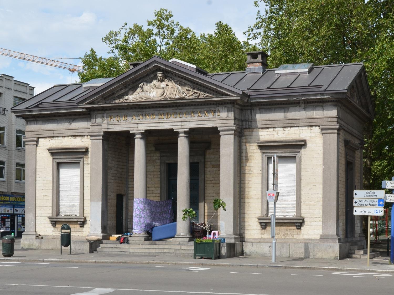 Porte d'Anderlecht, pavillon d'octroi, 2015