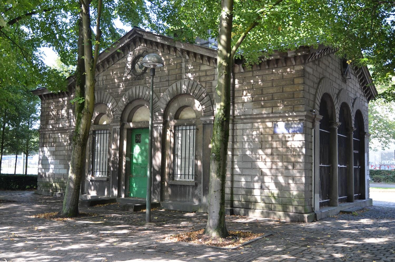 Porte de Ninove, pavillon d'octroi, 2015