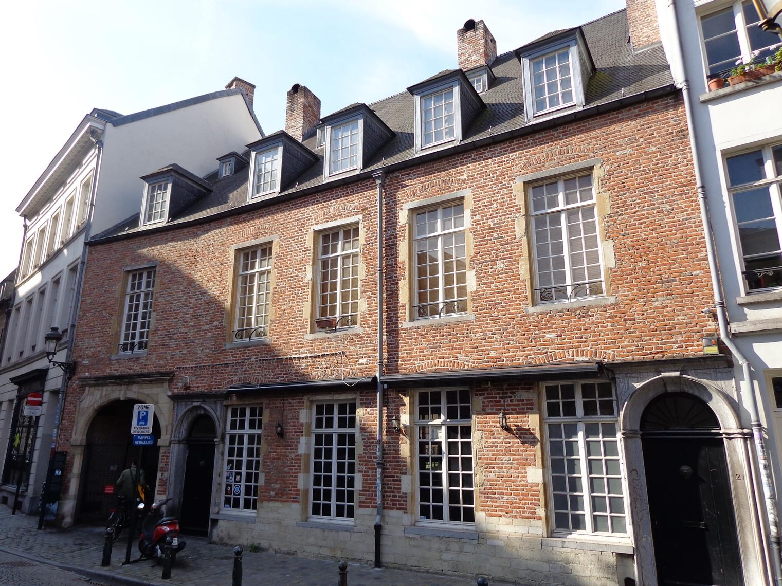 Place Saint-Géry 21-22-23, 2015