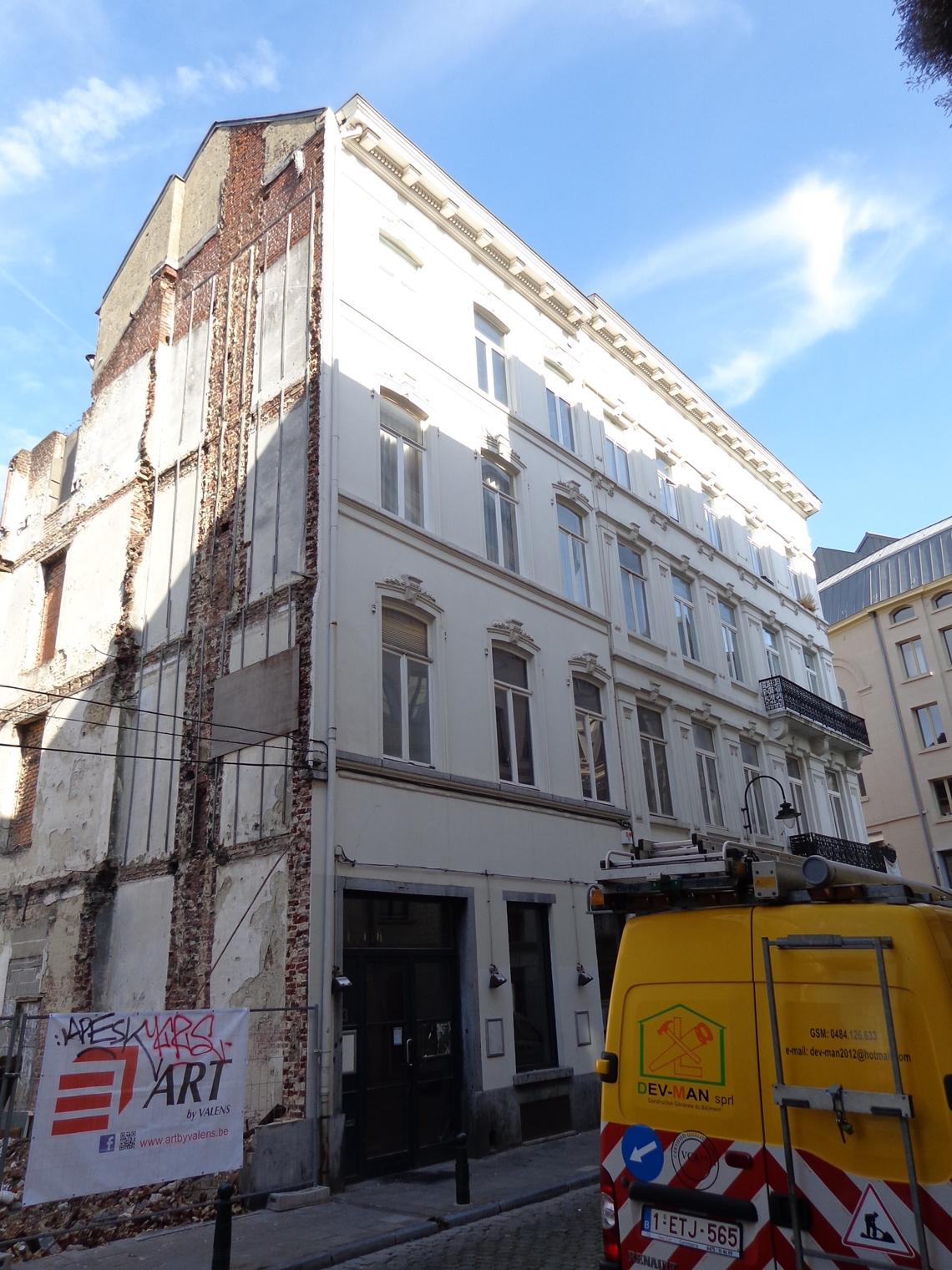 Rue Saint-Géry 3, 2015