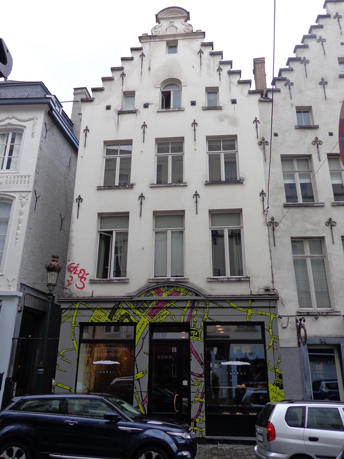 Rue Sainte-Catherine 34 et rue de la Machoire, 2015