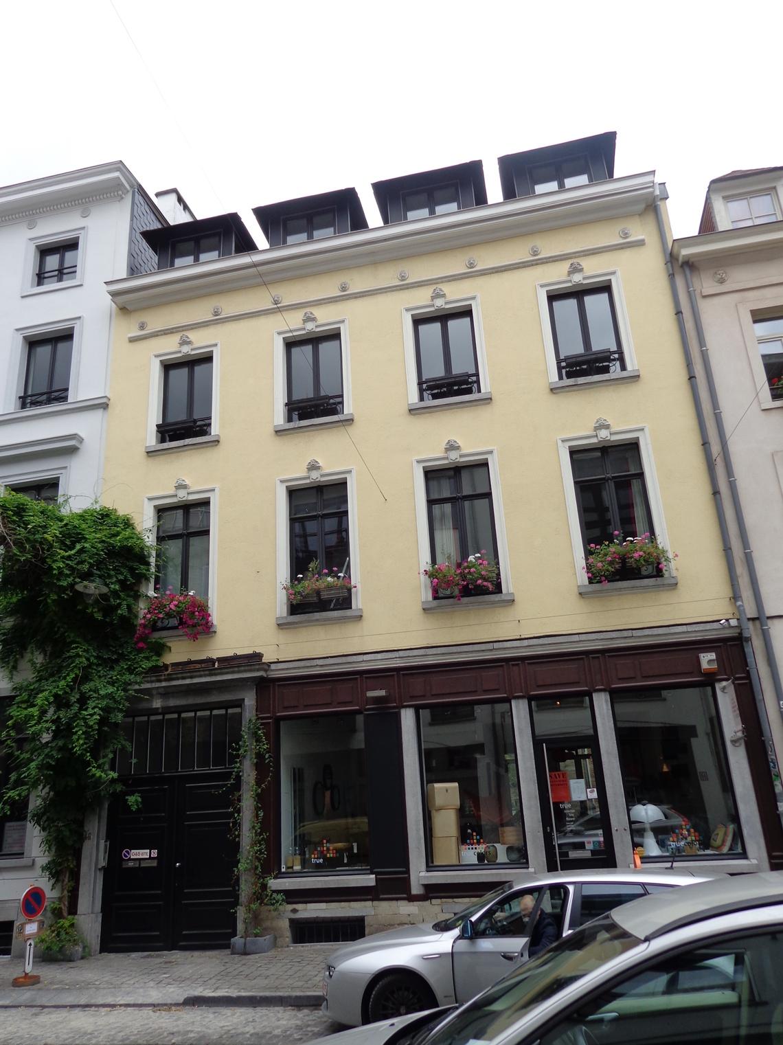 Rue du Vieux Marché aux Grains 48, 2015