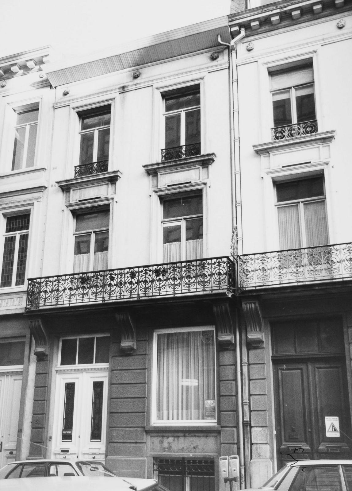 rue de l'Association 50 et 52., 1984