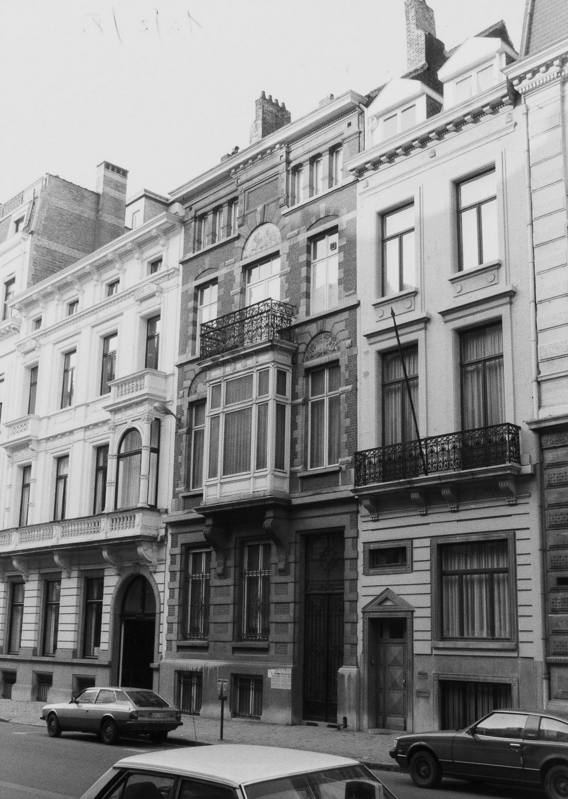 rue du  Congrès 18, 20, 22., 1981