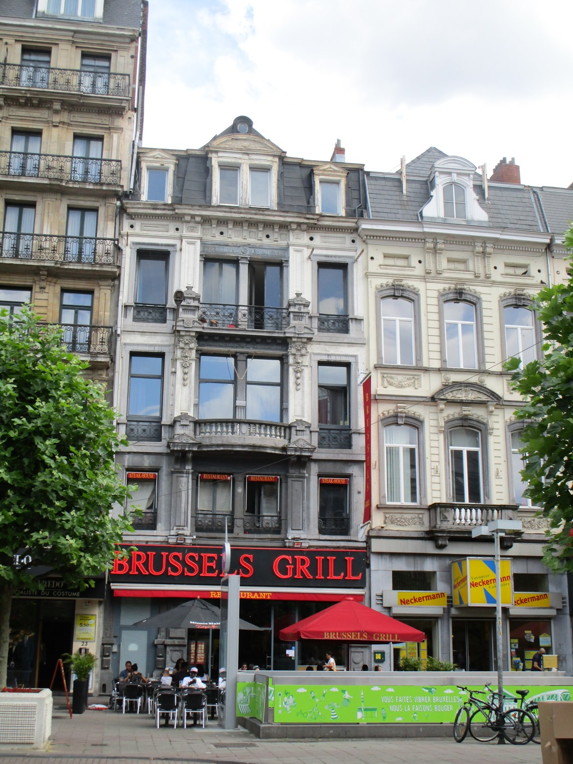 Place De Brouckère 19-21, 2015
