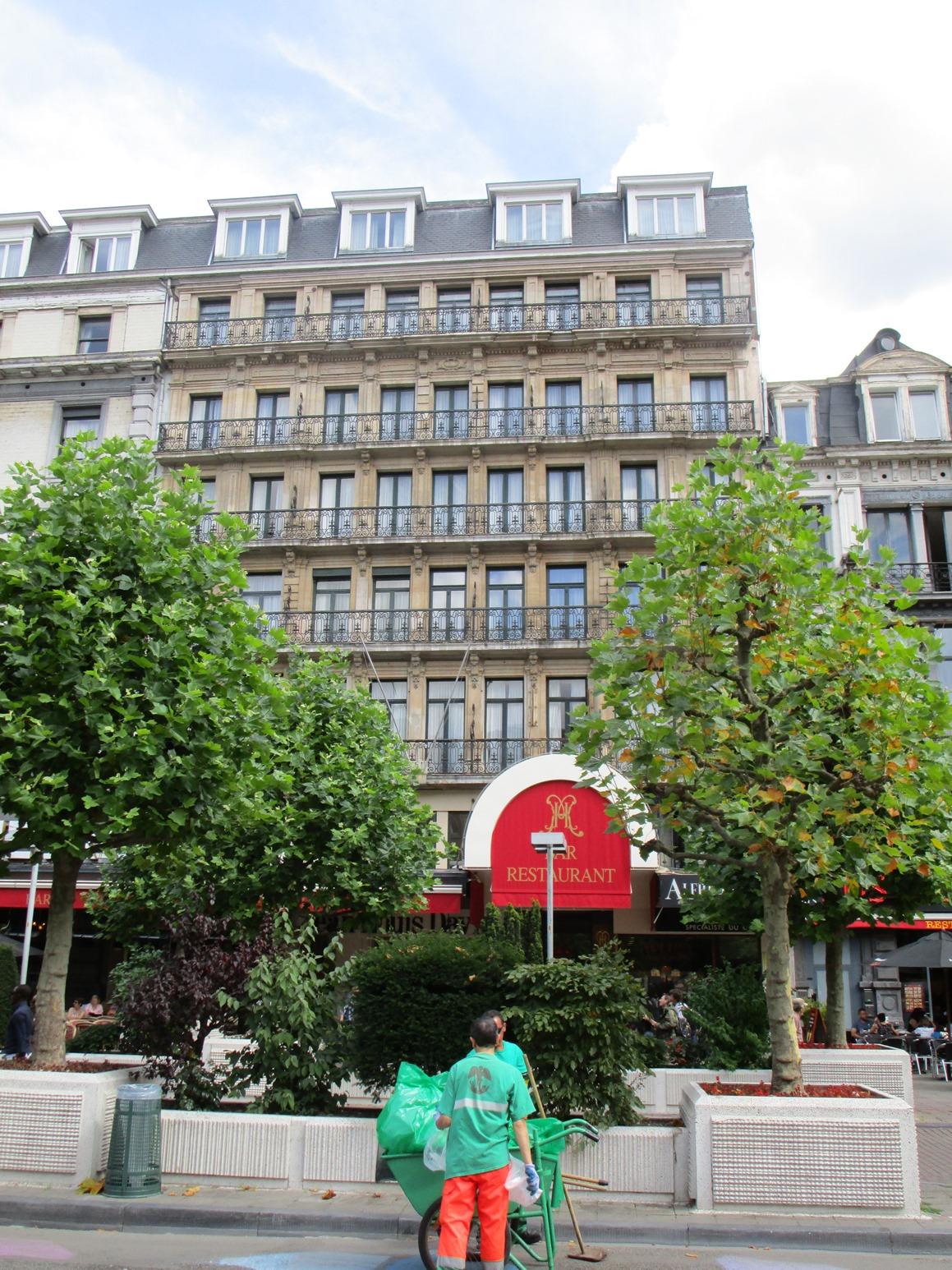 Place De Brouckère 23-25-27-29, 2015