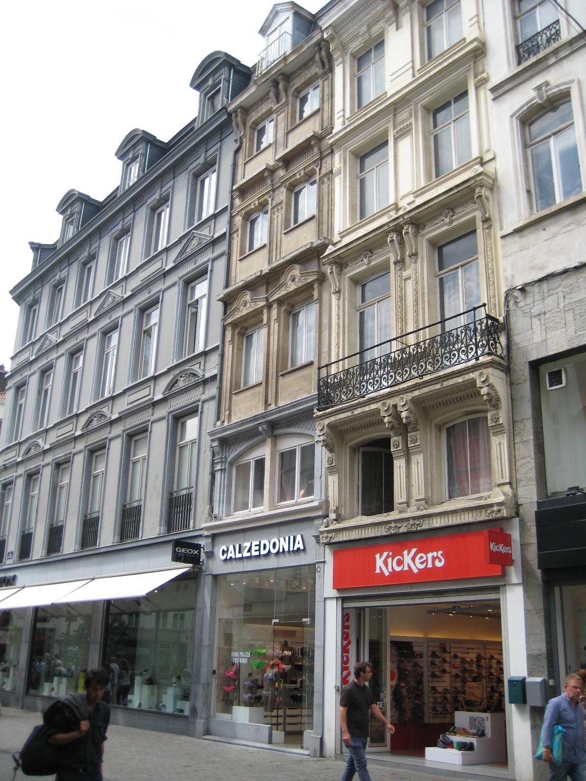 Rue des Fripiers 6, 2015
