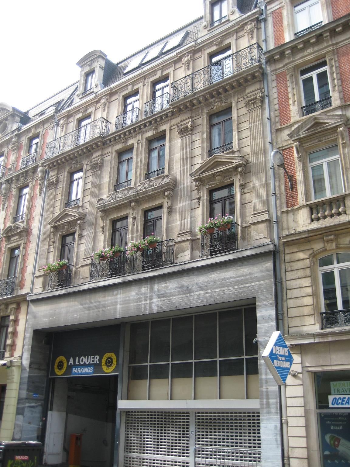 Rue Grétry 39-41, 2015