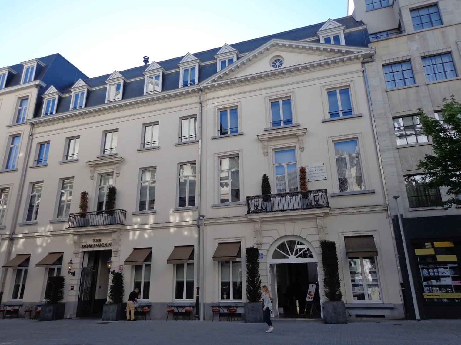 Rue Léopold 5-7, maison du peintre J.L. David, 2015