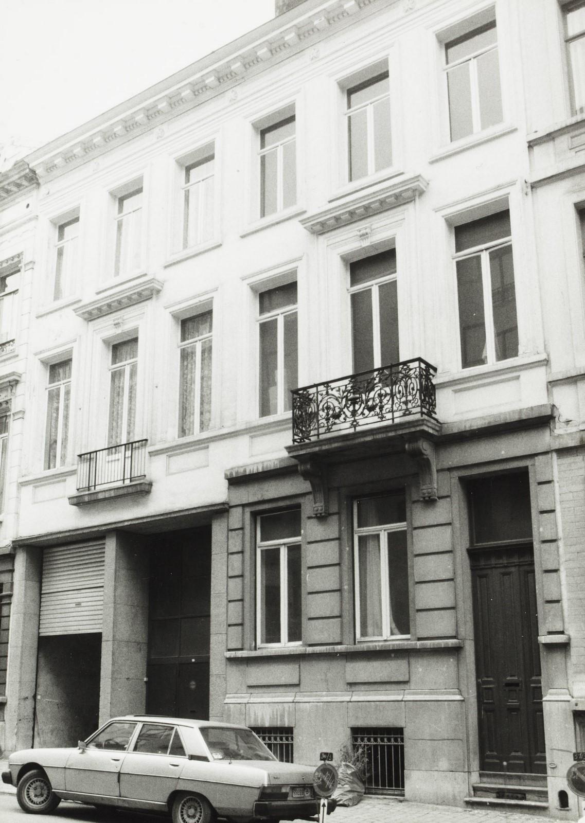 rue de la Presse 15-17., 1981