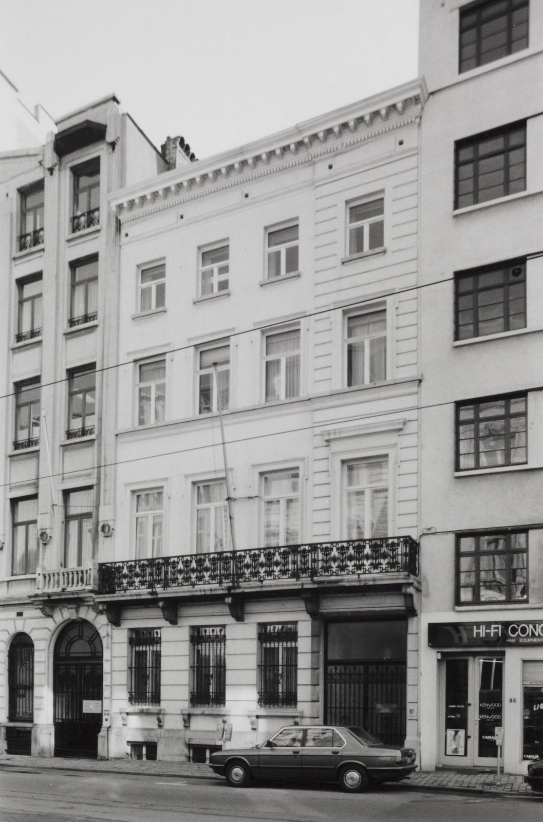 rue Royale 87., 1990